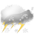 Forecast:  Mostly cloudy and cooler. Precipitation possible within 12 hours, possibly heavy at times. Windy.